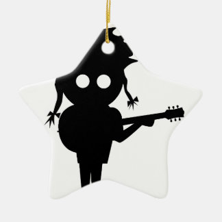 Solo Singer Christmas Ornament