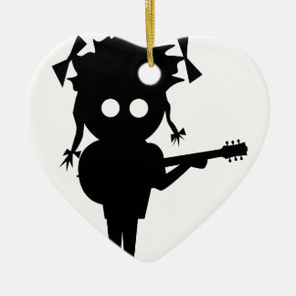 Solo Singer Christmas Ornament