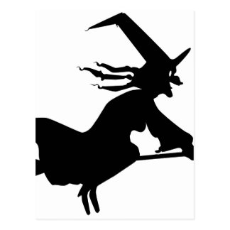 Solo Witch Postcard