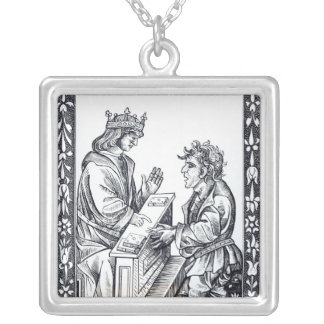 Solomon and Marcoul, illustration from Silver Plated Necklace