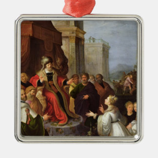 Solomon and the Queen of Sheba Christmas Ornament