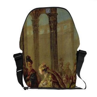 Solomon and the Queen of Sheba, or Esther before A Messenger Bag