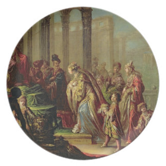 Solomon and the Queen of Sheba, or Esther before A Plate