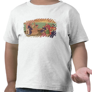 Solomon dictates the Proverbs T-shirts
