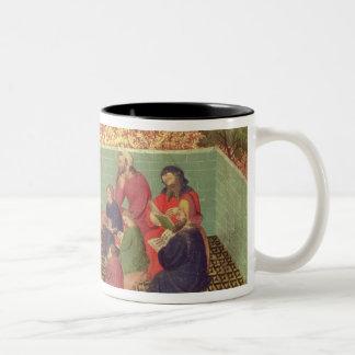 Solomon dictates the Proverbs Two-Tone Coffee Mug