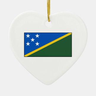Solomon Islands Flag Ornaments
