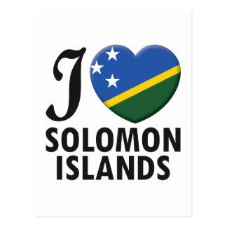 Solomon Islands Love Post Cards