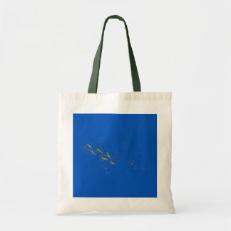 Solomon Islands Map Bag