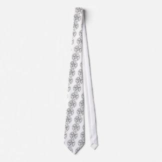 Solomon's Pentagram Tie