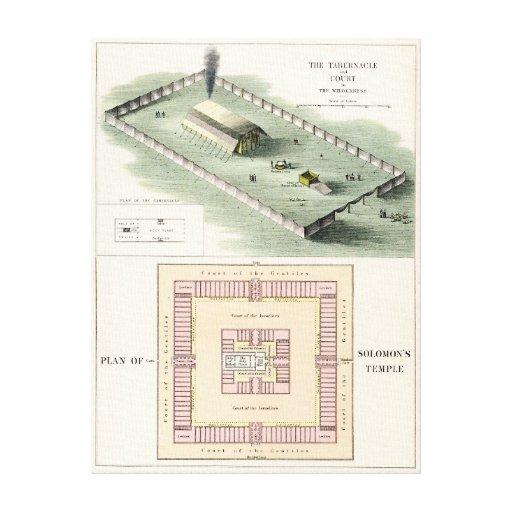 Solomon's Temple Stretched Canvas Print