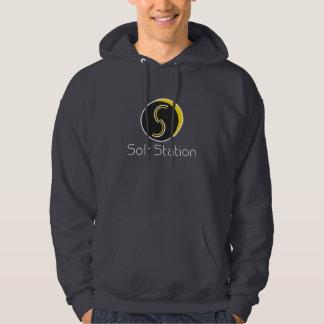 Solr Station - Hoodie Shirt - Dark Grey