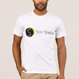 Solr Station - Horizontal Shirt - White