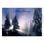 Solstice Blessings Greeting Cards