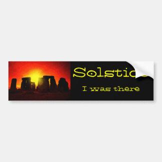 Solstice Bumper Sticker
