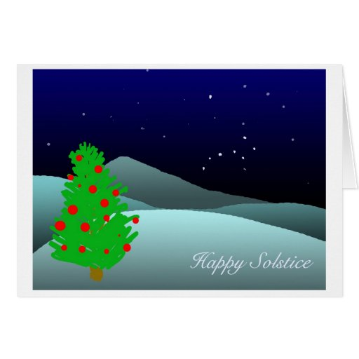 solstice greeting cards