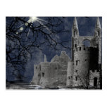 Solstice Night Gothic Landscape Post Card