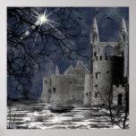 Solstice Night Gothic Landscape Print