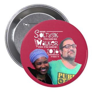 Soltysik/Walker in 2016 7.5 Cm Round Badge