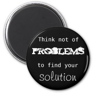 Solutions 6 Cm Round Magnet