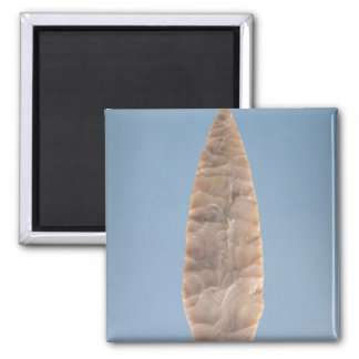 Solutrean laurel leaf blade found at Volgu Magnets