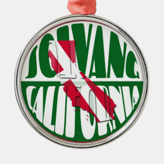 Solvang California Christmas Ornament