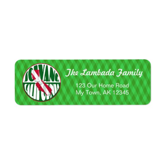 Solvang California, Danish Flag, Address Labels