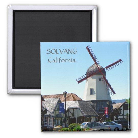 Solvang Magnet! Square Magnet