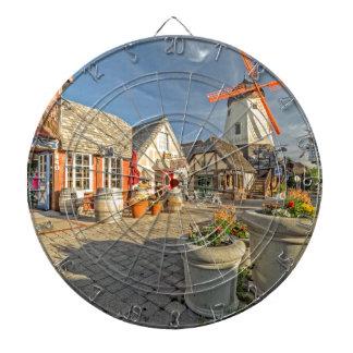 Solvang Windmill View Dart Boards