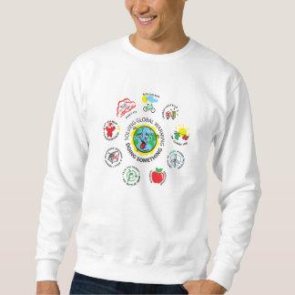 Solving global warming sweatshirt