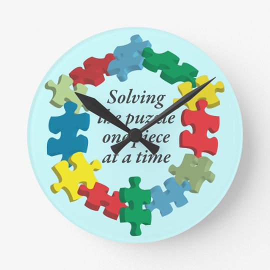 Solving the PuzzleBlue Wall Clock