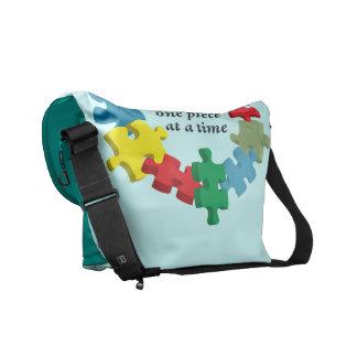 Solving the Puzzle...Messenger Bag Lt. Blue