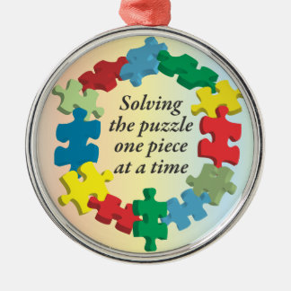 Solving the Puzzle...Rainbow Ornament