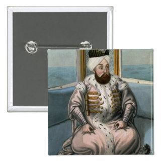Solyman II (1642-91) Sultan 1687-91, from 'A Serie 15 Cm Square Badge