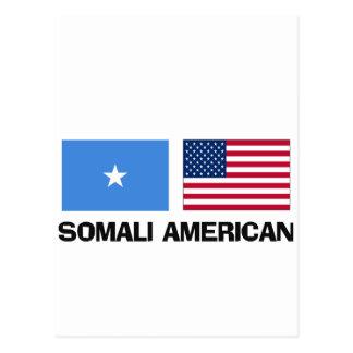 Somali American Postcard