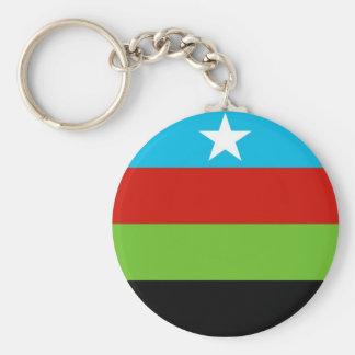 Somali Bantu Liberation Movement Flag Keychain