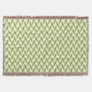 Somali Bee-eater Vintage Bird Pattern