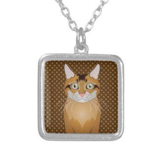 Somali Cat Cartoon Paws Custom Jewelry