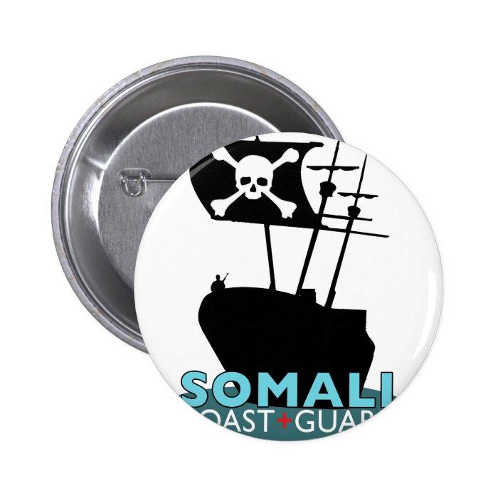 Somali Coast Guard 6 Cm Round Badge