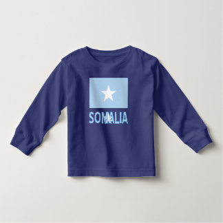 Somali Flag and Somalia Toddler T-Shirt