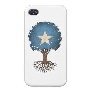 Somali Flag Tree of Life Customizable iPhone 4 Cover
