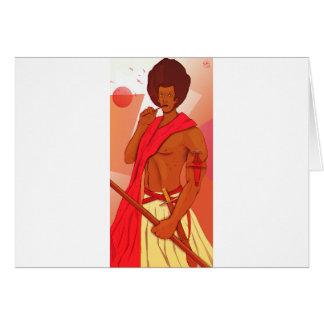 Somali Warrior Warranleh Card