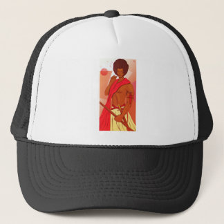 Somali Warrior Warranleh Trucker Hat