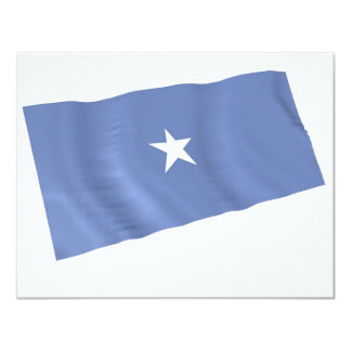 somalia 11 cm x 14 cm invitation card