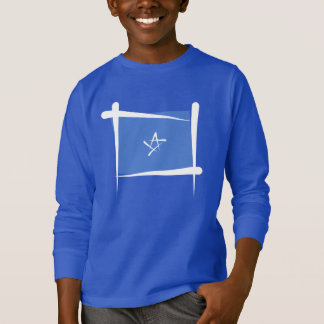 Somalia Brush Flag T-Shirt