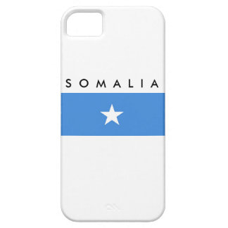 somalia country flag name text symbol case for the iPhone 5