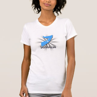 Somalia Flag Map 2.0 T-Shirt