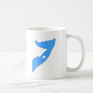 Somalia flag map coffee mug
