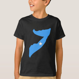 Somalia flag map T-Shirt