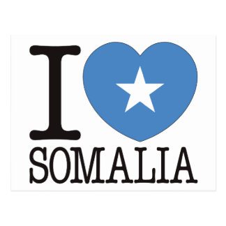 Somalia Love v2 Postcards