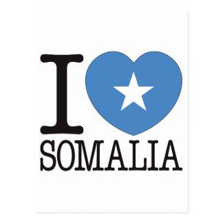 Somalia Love v2 Postcard
